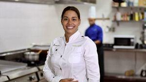 Chef María Marte.