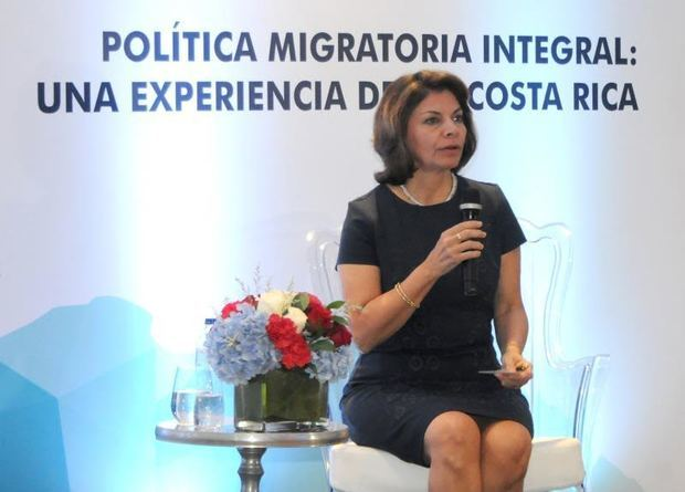 La expresidenta de Costa Rica Laura Chinchilla (2010-2014).