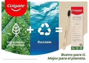 Esta será la primera de muchas acciones que tomará Colgate para cumplir sus objetivos de sustentabilidad de cara al 2025.