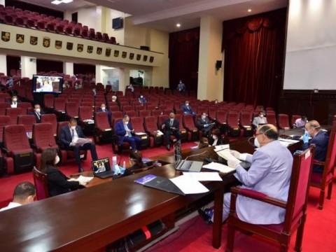 Comisión bicameral conoce segundo informe sobre el estado de emergencia nacional.