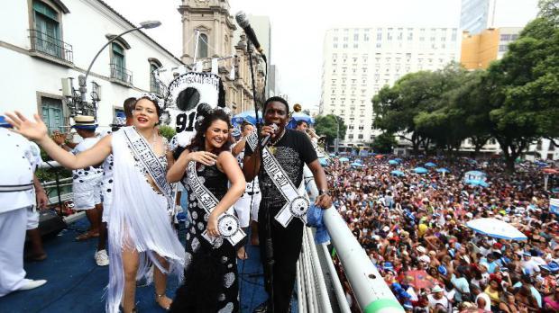 Comparsa más popular de Río conmemora centenario con un millón de seguidores