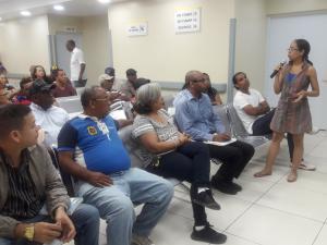 Comunitarios manifestaron sus impresiones sobre la gestión del centro hospitalario