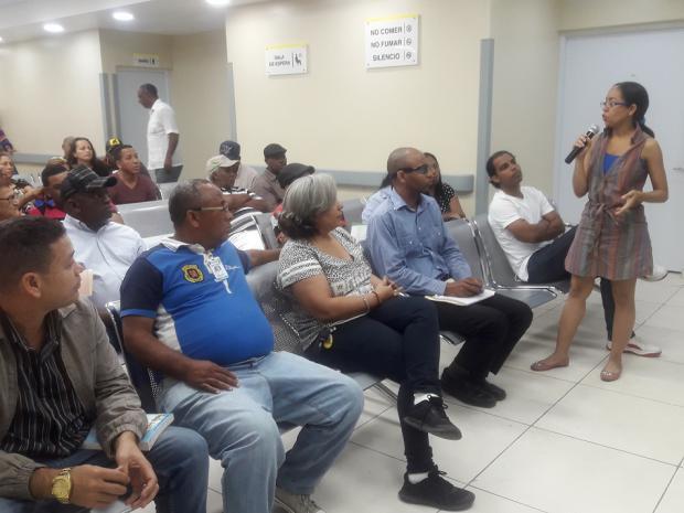 Hospital Moscoso Puello realiza tercer encuentro de acercamiento comunitario