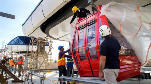 Teleférico de Santo Domingo movilizará a 6,000 usuarios cada hora