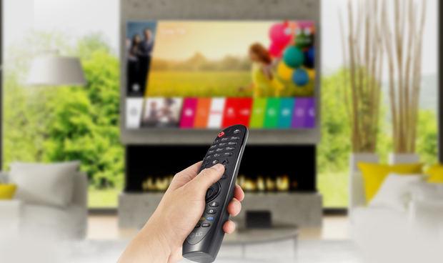 Magic Remote Control de LG: conveniencia, conectividad y entretenimiento.