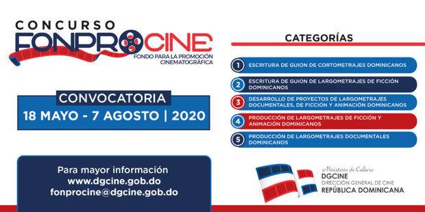Concurso Público Anual FONPROCINE 2020 tiene abierta la convocatoria para su novena edición