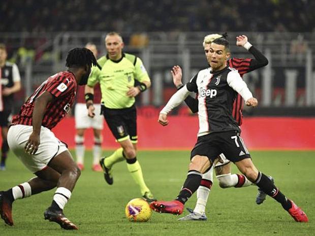 Semifinal Serie A de Italia, Juventus - Milan, pospuesta indefinidamente