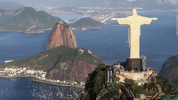 El corazón del Cristo Redentor palpita para alertar de riesgos cardiovasculares