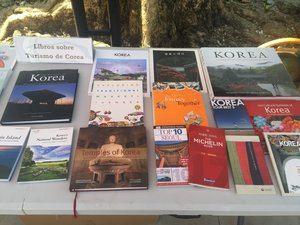 Libros coreanos.