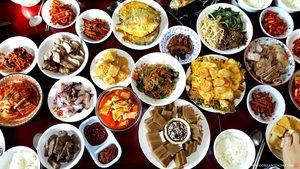Comida Coreana.