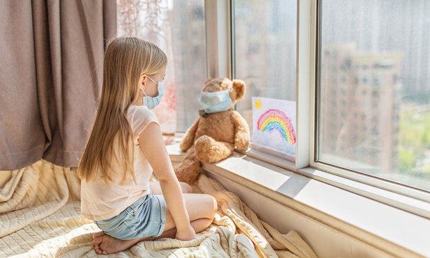 Encuesta revela que el coronavirus causa miedo y estrés a los niños.