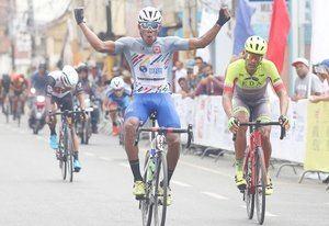 Jurado conquista quinta etapa de Vuelta Ciclista Independencia