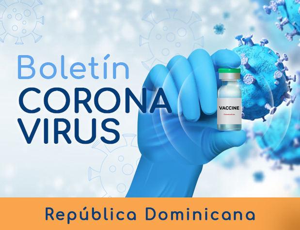 Reportan 572 nuevos contagios de coronavirus en República Dominicana