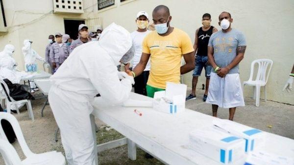 Más de 3,000 pruebas rápidas revelan 136 positivos en cárcel de La Victoria