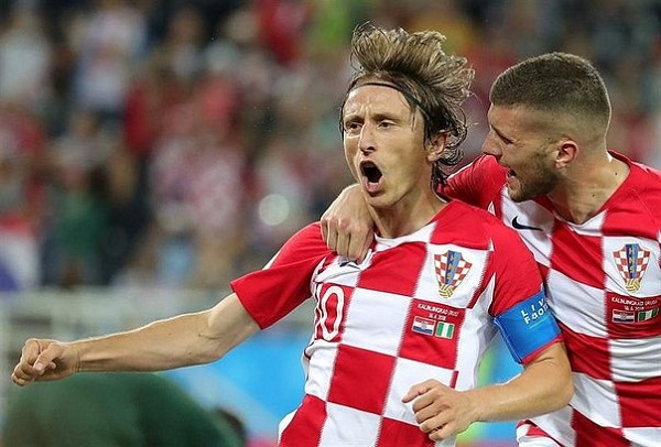 Croacia derrotó a 2-0 a Nigeria por el Grupo D de Rusia 2018