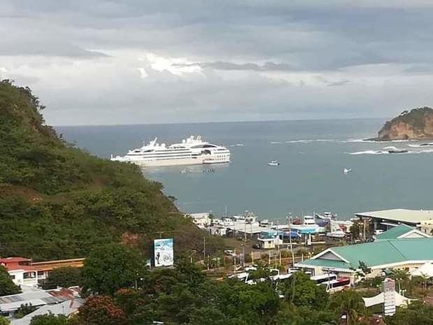 Embarcación francesa inaugura la temporada de cruceros 2019 - 2020 en Nicaragua