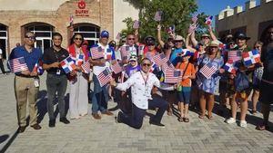 Estadounidenses celebrarán Independencia EE.UU a su llegada a Puerto Plata