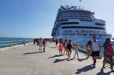 República Dominicana recibirá en este mes un total de 17 buques de crucero