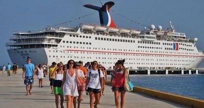 Se incrementa llegada de cruceristas al país con cifras records