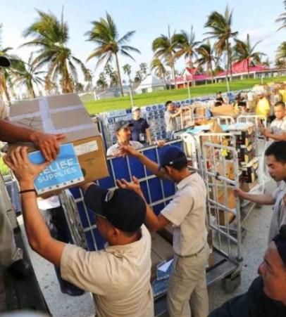 República Dominicana envía toneladas de ayuda y equipos de socorro a Bahamas.