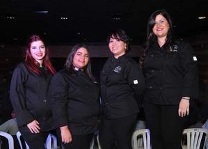 Mónica García, Penélope Peña, Patricia Lizardo, Gloria Castaños