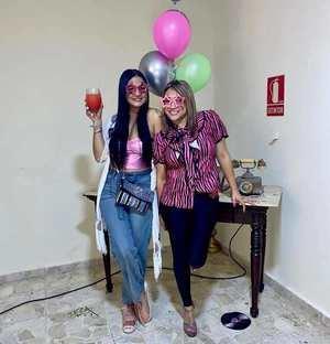Franchesca Estévez y Mabelyn Paredes.