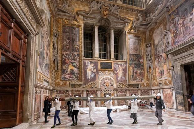 Imagen cedida por el Museo Vaticano.