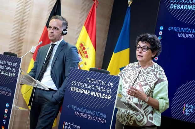 Ministros de dieciséis países renuevan en Madrid su compromiso antinuclear