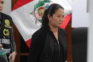 En la imagen, la líder peruana Keiko Fujimori.