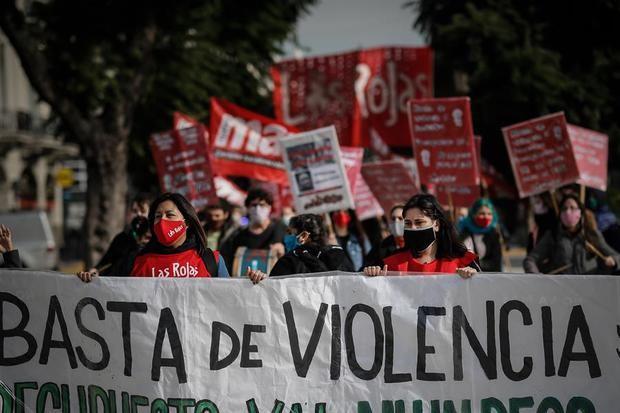 Organizaciones argentinas piden emergencia nacional por violencia de género