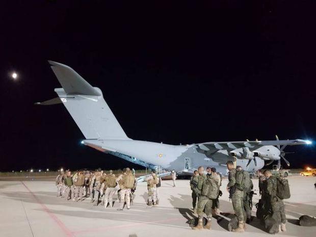Salió el primer avión para repatriar a los españoles de Afganistán