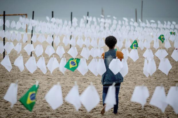 Brasil, el segundo país del mundo en superar los 600.000 muertos por covid
