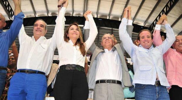 Manuel Jiménez se juramenta en el PRM