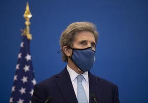 El enviado especial de Estados Unidos para el clima, John Kerry.