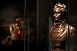 En la imagen, un busto de Ludwig van Beethoven, en Bonn, Alemania.