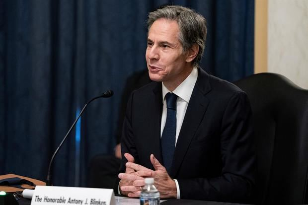 El secretario de Estado de Estados Unidos, Antony J. Blinken.