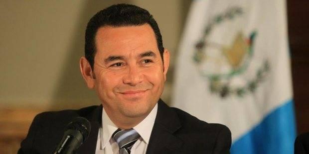 Jimmy Morales.