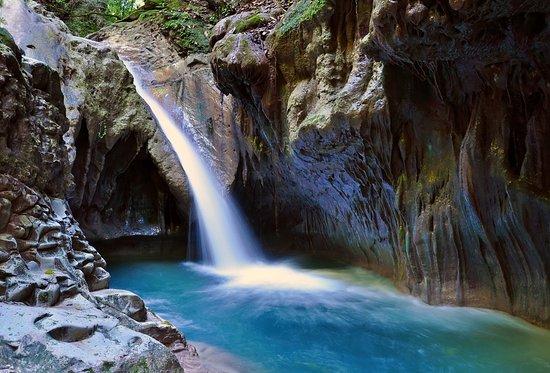 Los Saltos de la Damajagua, atracción turística que recibió 120 mil excursionistas en 2019