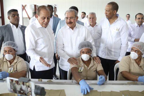 Medina encabeza inicio operación zona franca; inversión supera RD$400 millones