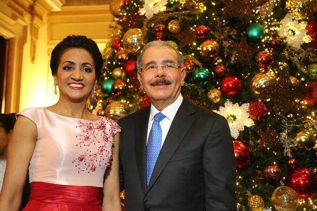 Presidente Medina envía un mensaje de paz y unión al pueblo dominicano por Navidad