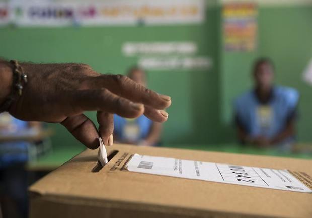 La misión de la OEA en RD saluda el voto manual en elecciones