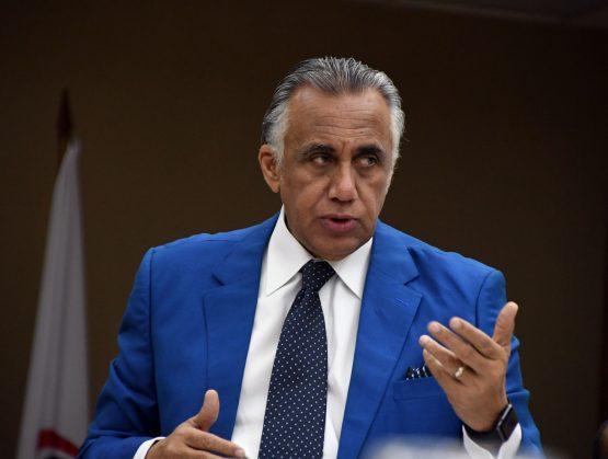 Presidente del Comité olímpico Dominicano, COD, Luis Mejía Oviedo.