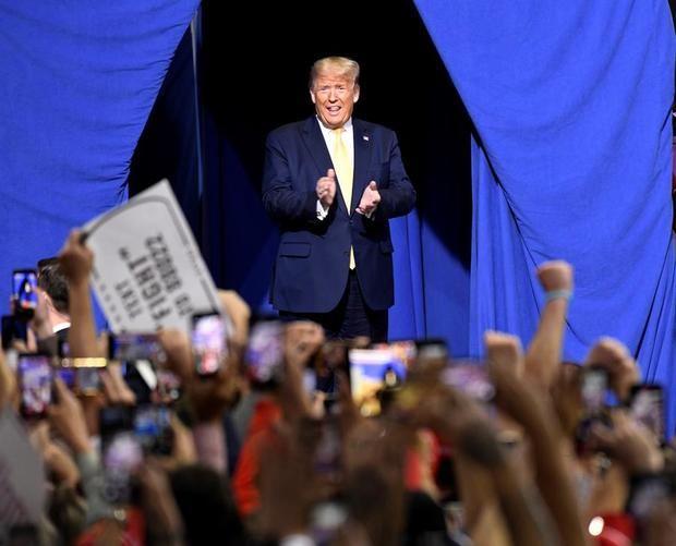 En la imagen, el presidente de EE.UU., Donald Trump.