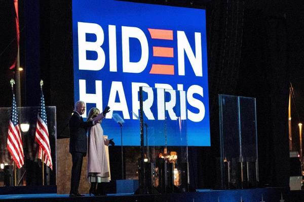 El exvicepresidente estadounidense y candidato demócrata a la Casa Blanca, Joe Biden (i), fue regisrado este miércoles, junto a su esposa, Jill Biden (d), en Wilmington (Delaware, EE.UU.)