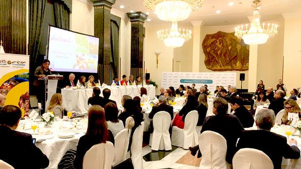 Desayuno informativo con los ministros de Turismo de Centroamérica y RD