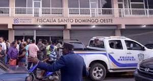 Oficina Judicial de Servicios de Atención Permanente del Palacio de Justicia de Santo Domingo Oeste.