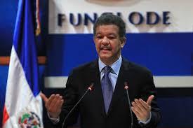 El expresidente de la República, Leonel Fernández.