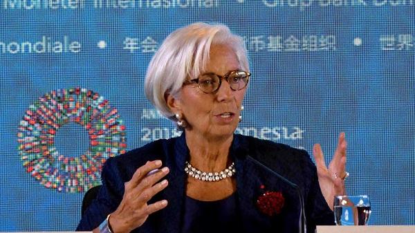 Lagarde no ve la economía