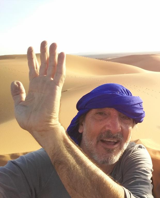 Exhibición dibujos y fotografías sobre Marruecos de Marcelo Ferder este jueves 15