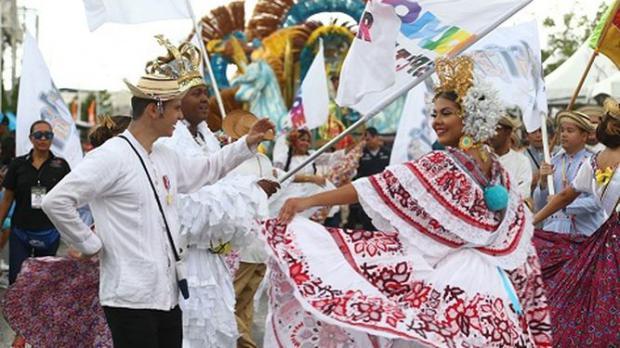 Celebración del Desfile de Reinas de Panamá